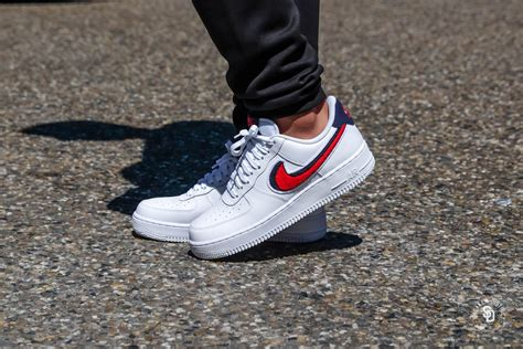 Nike Air Force 1 '07 LV8 White/University Red-Blue Void