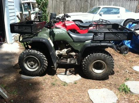 QUESTION ABOUT TIRES FOR Honda FourTrax 300 4X4 - Honda