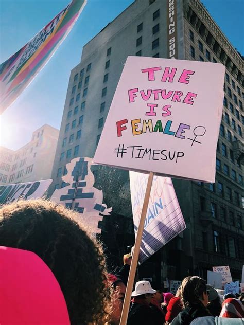 the future is female | Feminism, Womens march signs, Feminist