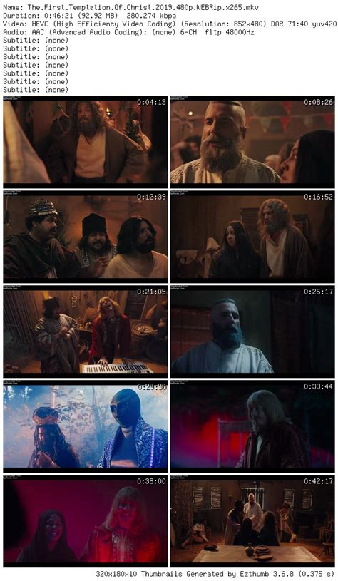 The First Temptation of Christ (2019) Mp4 3gp Download
