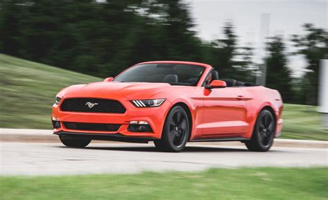 2015 Ford Mustang EcoBoost Convertible Test | Review | Car