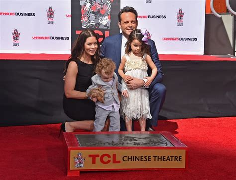 Vince Vaughn had the sweet support of his wife, Kyla Weber