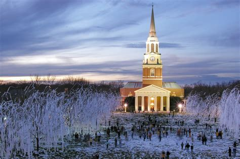 The Snow-Covered Campus