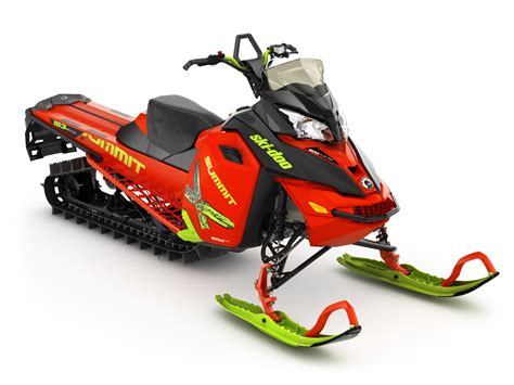 BRP Adds More Colors To Ski-Doo Models Summit X, Renegade
