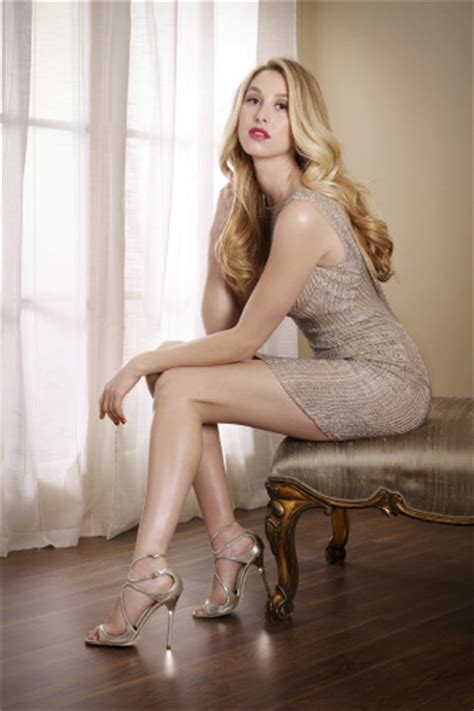 Whitney Port shows off her incredible legs as she's