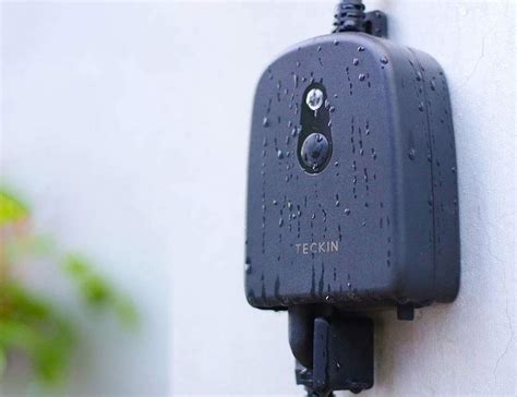 The Outdoor Smart Plug Extends Your Smart Home Outdoors