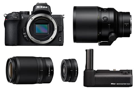 Nikon Z50, Three New Lenses, And A Controversial Battery