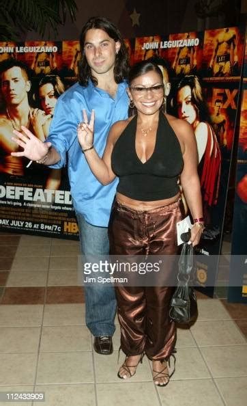 Lisa Lisa and Antonimar Mello during 'Undefeated' New York