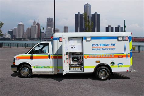 Canadian ambulance features industry-first seat belt monitors