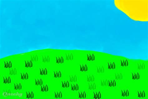 Grasslands and beyond ← a landscape Speedpaint drawing by