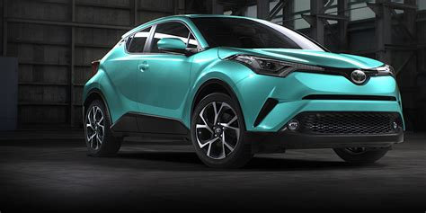 2017 Toyota C-HR detailed for Australia ahead of first