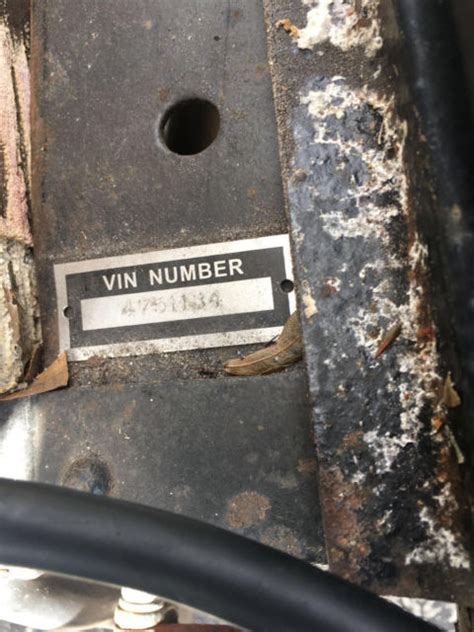 1930 FORD MODEL A TITLE IN PICTURES Matching VIN Numbers