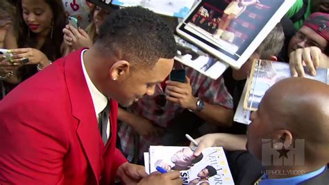 Will Smith Kisses Son Trey on the Mouth Too