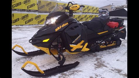 2013 Skidoo Renegade Backcountry X Dressed up with Linq