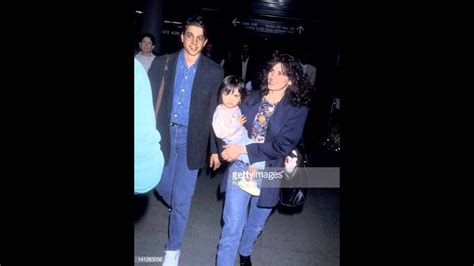 Ralph Macchio and his wife Phyllis Fierro and their