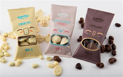 Exotic Snack Packaging : exotic snack