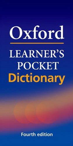 Oxford Learner's Pocket Dictionary (4th Edition