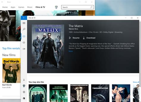Microsoft's Movies and TV app will now play your next