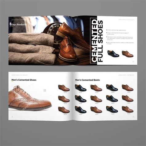 Design a fresh and sophisticated brochure for a luxury