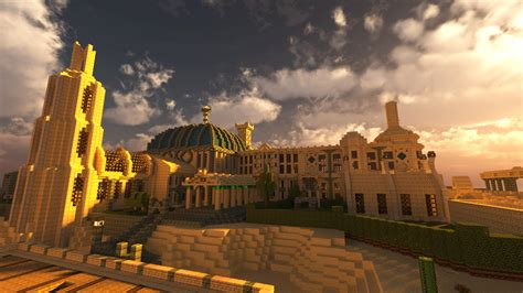 Whiteark's a HUGE desert city in Minecraft and it's not