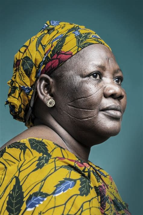 10 Photos of the Ancient African Tradition of Facial