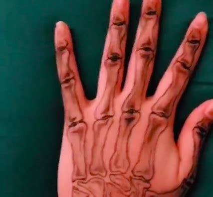 TikTok: What is the Skeleton Hand Drawing Challenge? Viral