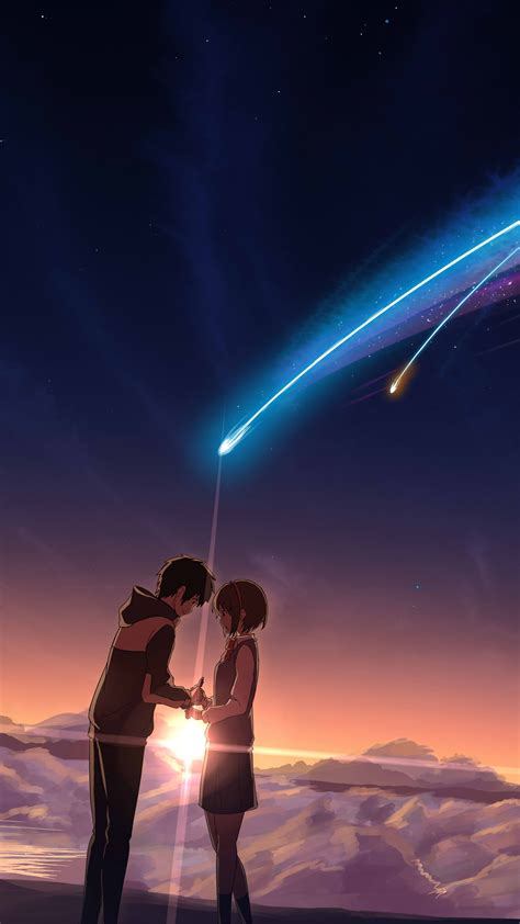 Wallpaper Your Name, anime, best animation movies, Movies