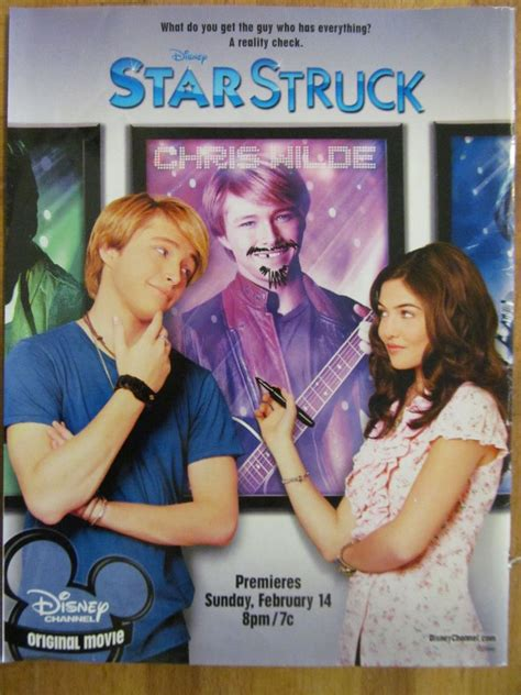 Star Struck, Sterling Knight, Full Page Promotional Ad