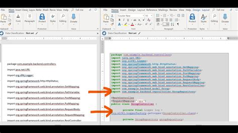 How to Insert code snippet in word document | Code Format