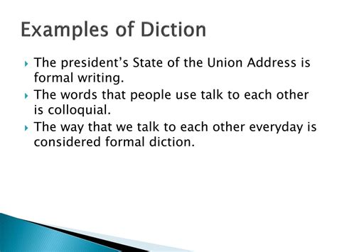 PPT - Diction, Allusion, Analogy PowerPoint Presentation
