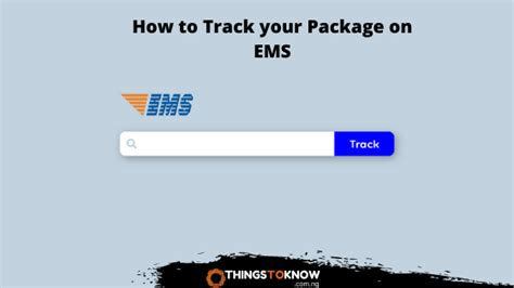 EMS Tracking: How To Track Your Parcel From China To Nigeria