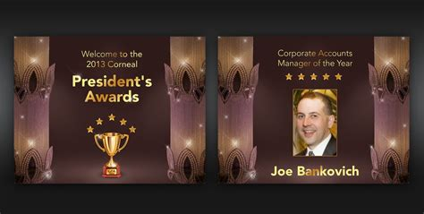 Awards PowerPoint Template | Other business or advertising