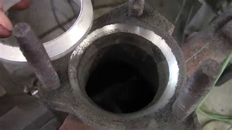 How to grind your exhaust manifold doughnut seating