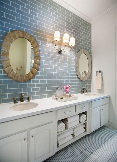 37 light blue bathroom floor tiles ideas and pictures 2020