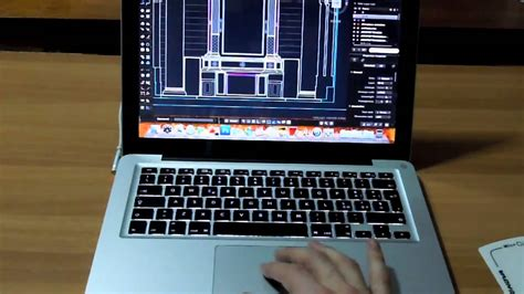 Autocad 2011 for Mac pan and zoom macbook pro - YouTube