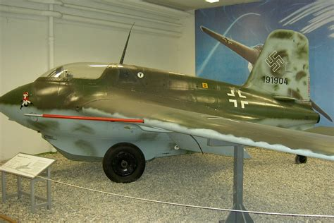"""Meet the Nazis' Me-163 """"Komet"""": The Only Rocket Fighter"""
