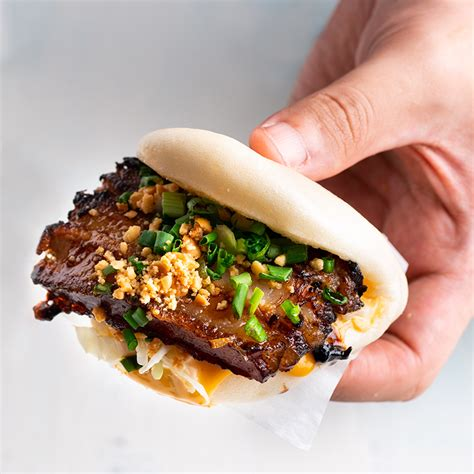 Red-Cooked Pork Belly Bao - Marion's Kitchen