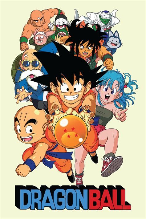 Dragon Ball (1986)   The Poster Database (TPDb) - The Best