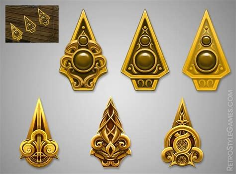 Icons – 2D and 3D Game Tiles, Chips, Objects, Cursors and