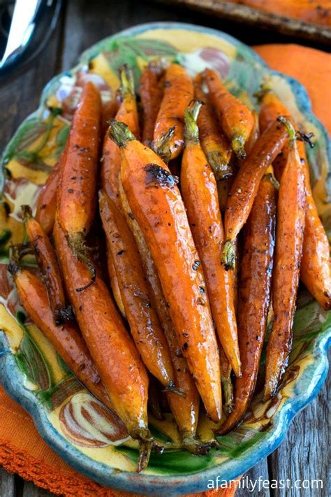 Tuscan-Style Roasted Carrots - A Family Feast®