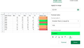 How to add or remove decimal places in Google Sheets