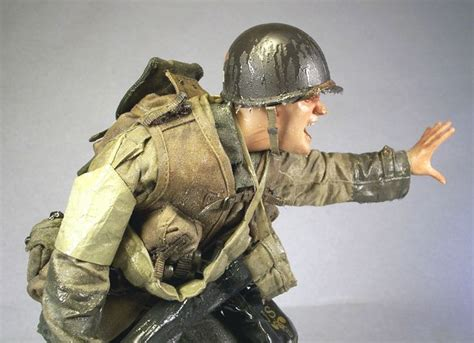 Omaha Beach - D-Day 1/6 Scale Model   Military modelling