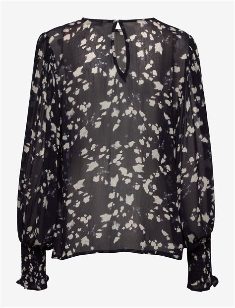 Eritapw Bl (Abstract Print, Navy) (225 kr) - Part Two