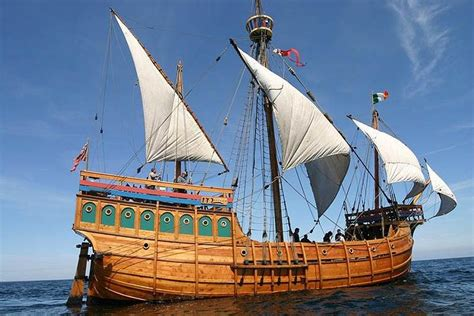 The Matthew of Bristol, a replica of the caravel in which