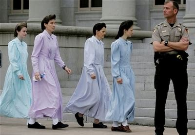 Will polygamist chic soon hit the runway? | All The Rage